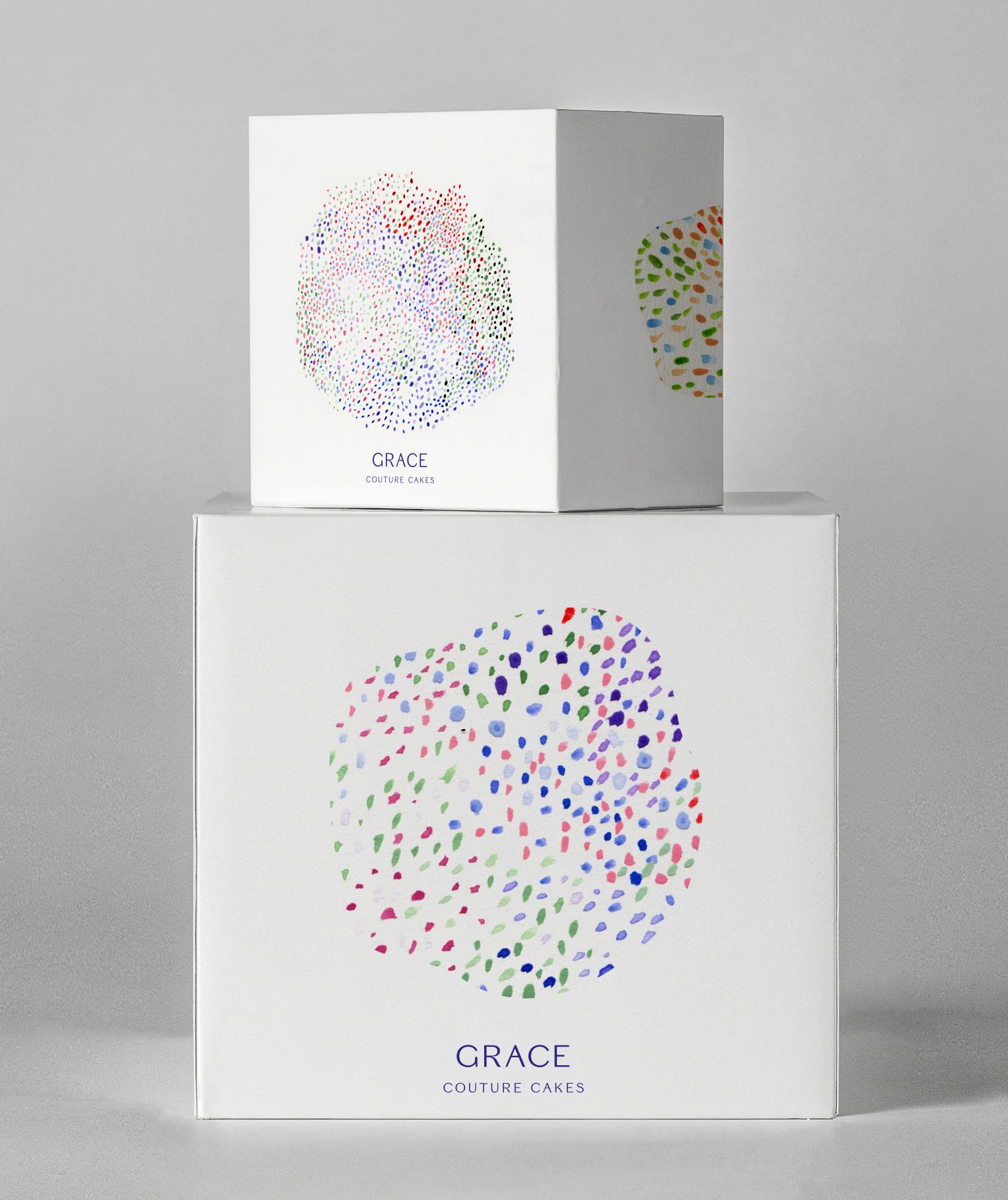 Rebranding a premium cake shop.  <br>|<br> Grace Couture Cakes - Duplicate