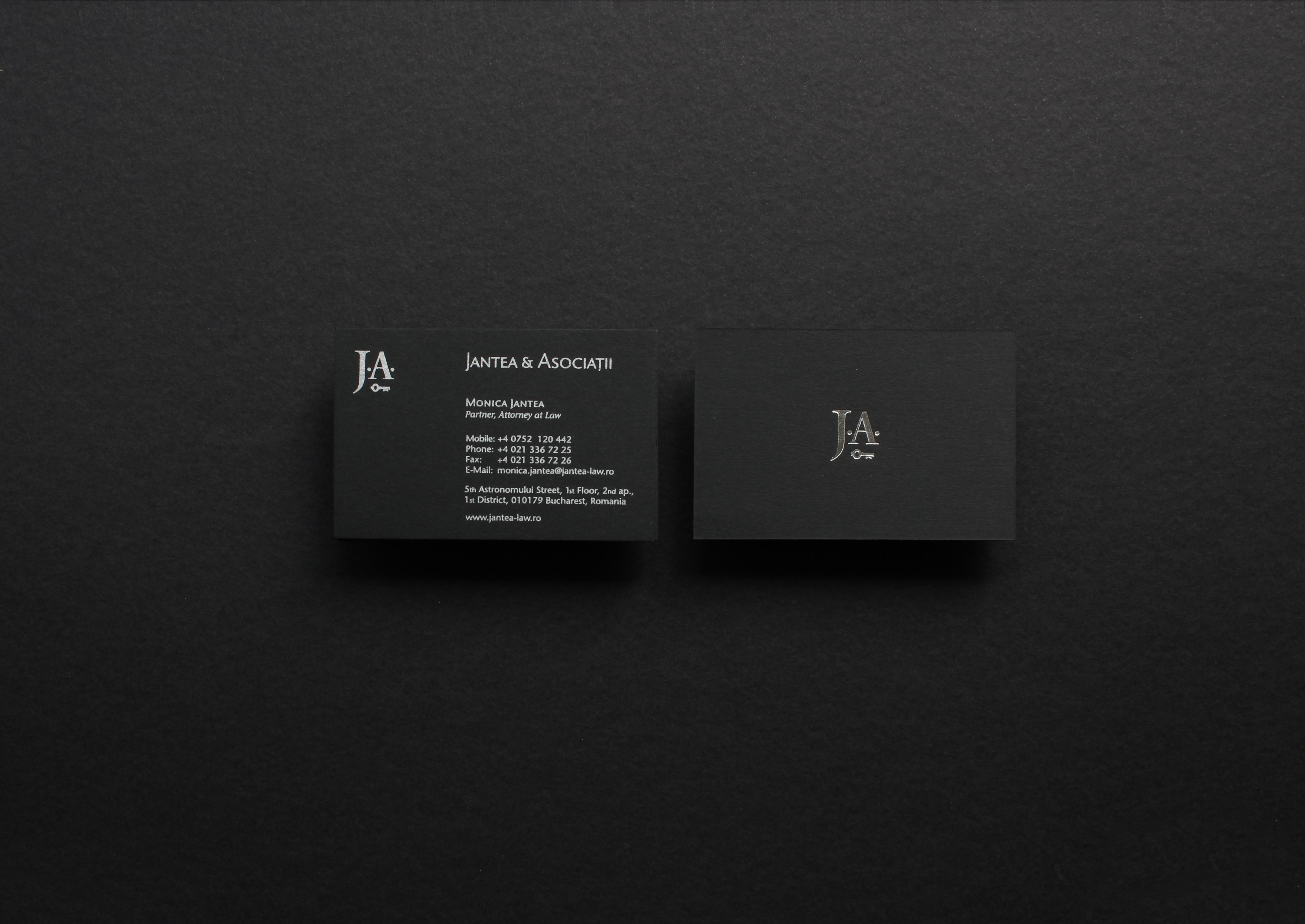 JA – 2 – carti vizita